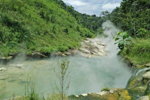 boiled water river